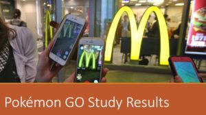 Pokemon GO Study Results