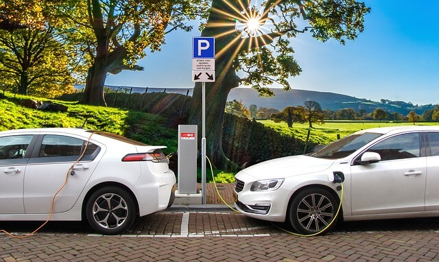 electric car, EVs, charging station