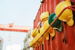 building and construction job sites safety regulations hard hats