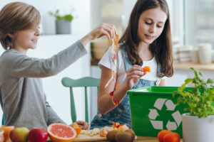 food and beverage food waste consumers recycling composting food waste