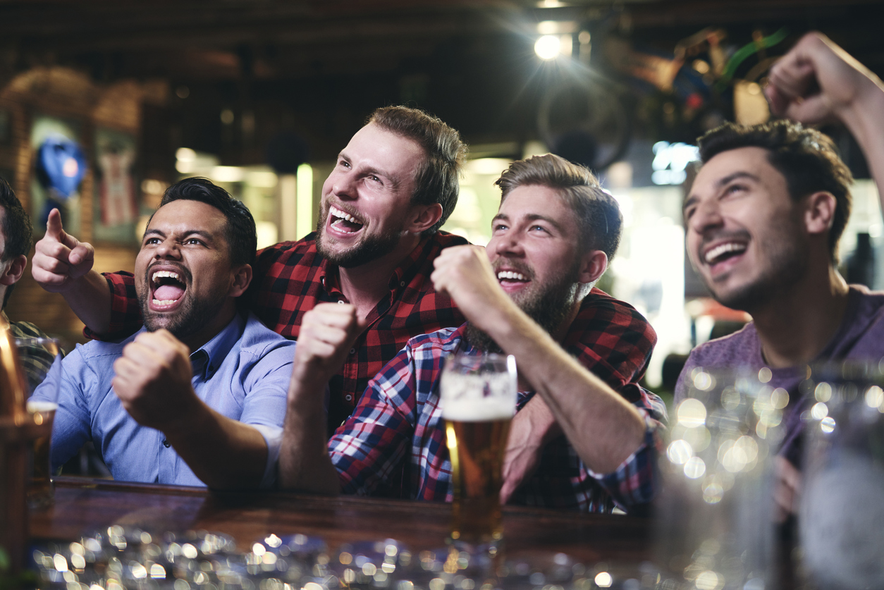 sports fans excited emotional experience